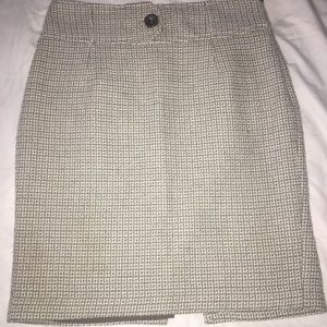 Gray The Limited Skirt With Back Slit